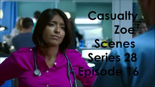 Gambar cover Casualty Zoe Scenes - Series 28 Episode 16