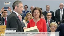 Wahl Rheinland-Pfalz: Vereidigung von Malu Dreyer zur Ministerpräsidentin am 18.05.2016