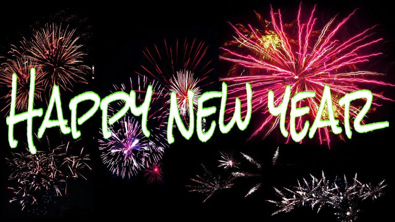 Happy New Year 2018, Wishes, Images, Whatsapp Video Download, Greetings,  Wallpaper, Animation, Music