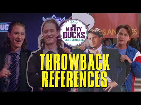 The Mighty Ducks Game Changers Throwback References🏑⛸