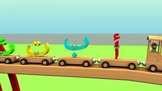 Learn Arabic Alphabet Train - قطار الحروف العربية للأطفال