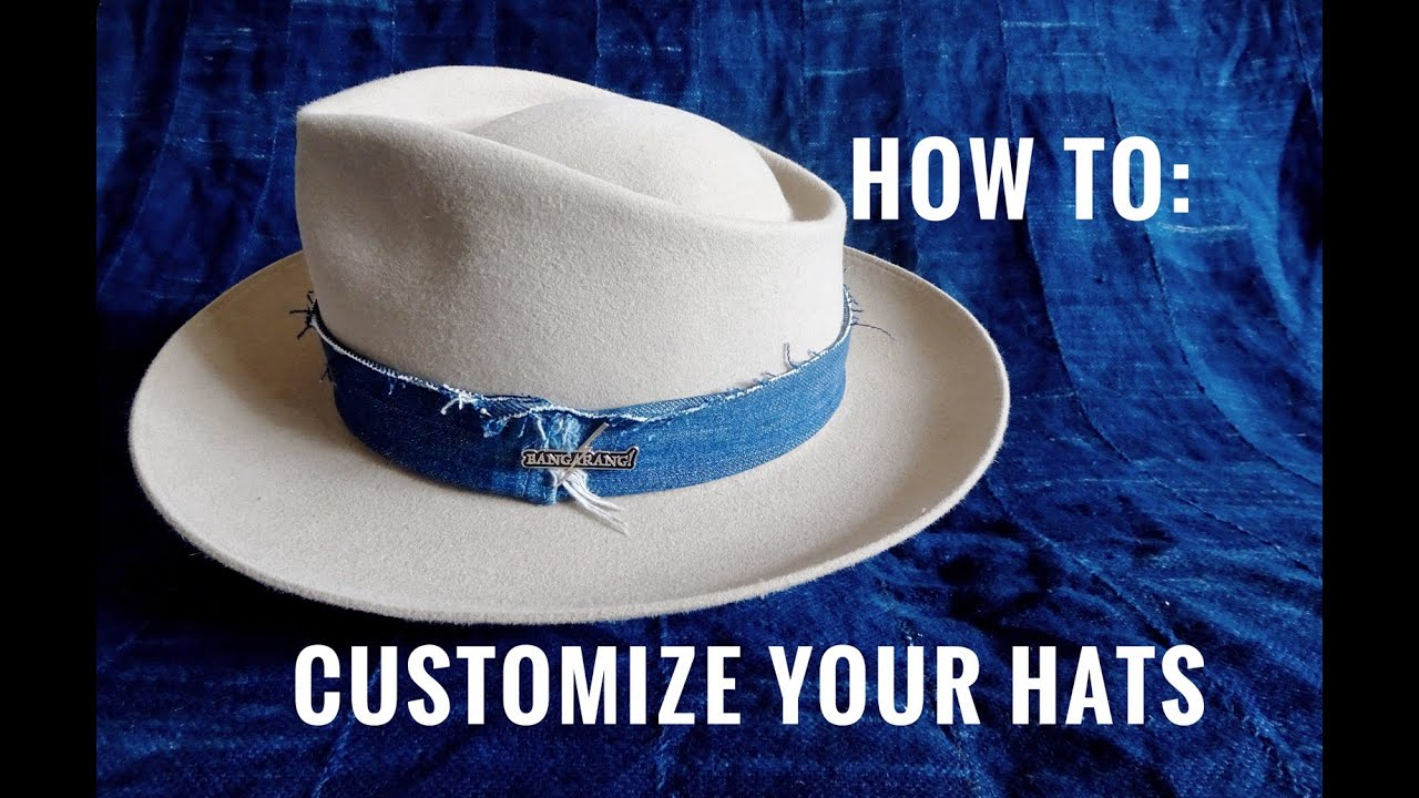 eabbf05f5d64a How To  Customize Your Own Hat