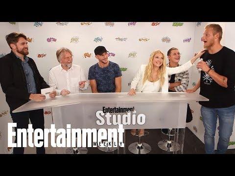 Vikings: Katheryn Winnick, Alexander Ludwig & More Talk Season 5  SDCC 2017  Entertainment Weekly