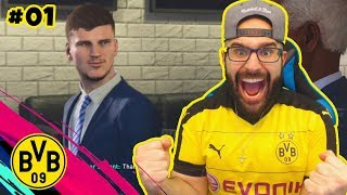YES! FIRST INSANE SIGNING & 90 RATED SANCHO? FIFA 19 DORTMUND Career mode