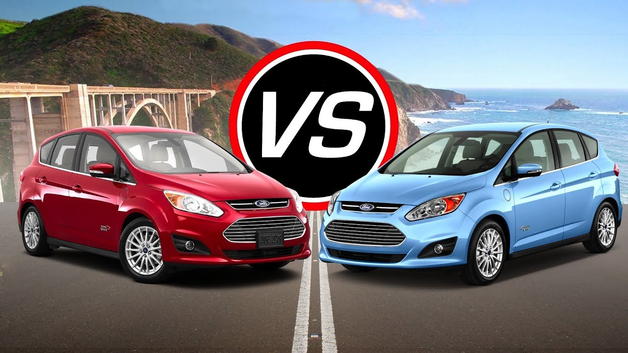 2016 Ford C Max Energi Vs Hybrid Spec Comparison