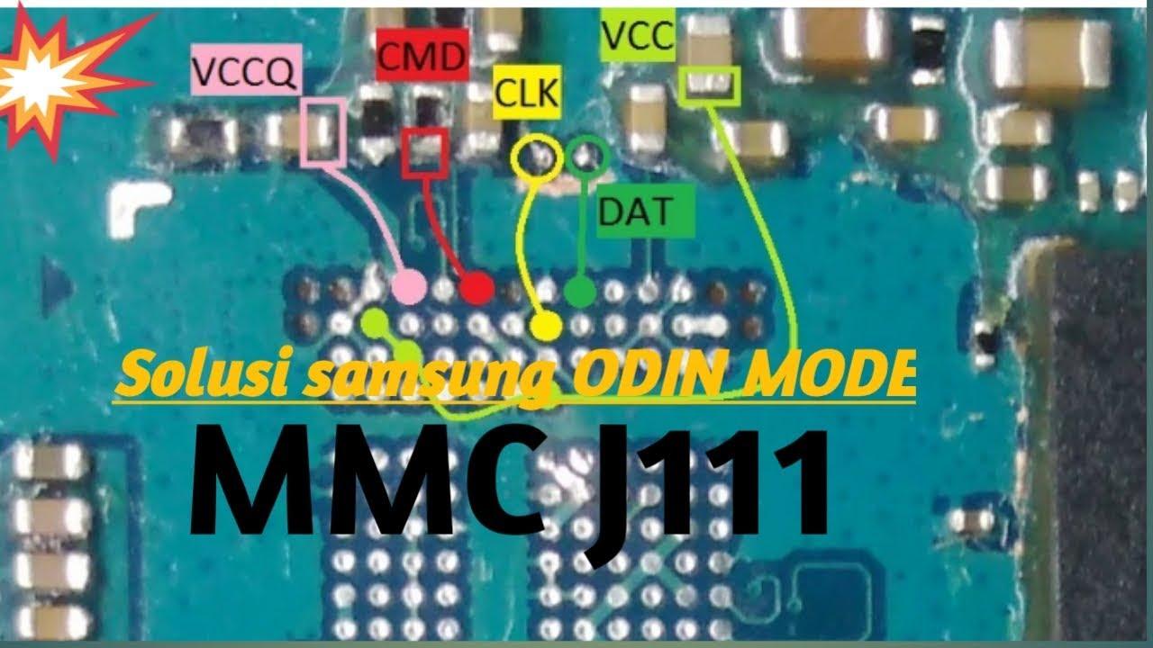 Samsung J1 Ace Trik Menghilangkan Odin Mode Dg Mengganti Emmc