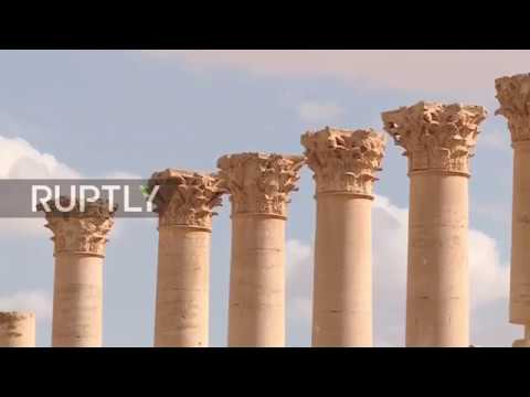 Syria: Palmyra ruins 'stolen and destroyed' by IS - Director of Palmyra Museum