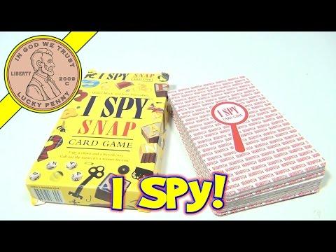 I Spy Snap 48 Jumbo Cards Game, 1998 Scholastic