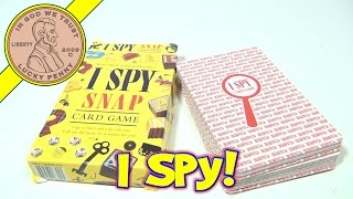I Spy Snap 48 Jumbo Cards Game, 1998 Scholastic