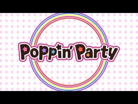 Poppin'Party 12th Single「キズナミュージック♪」CM