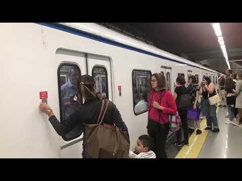 Circulaciones de metro de Madrid por Colombia