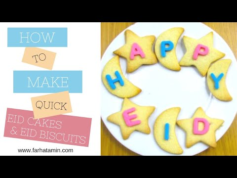 How to make Eid Cakes - The Muslimsticker Company