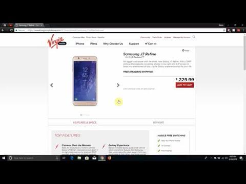 Samsung GALAXY J7 Refine | Virgin Mobile USA
