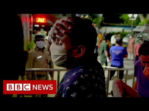 India sets global record for new cases amid oxygen shortage - BBC News