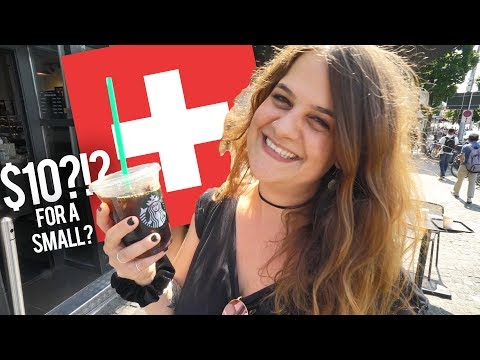 Is Switzerland ACTUALLY Expensive?!? - Local Swiss Girl Explains Costs In Zurich