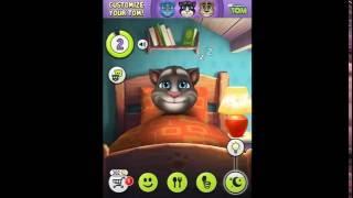 My talking Tom cat game video cartoon for kids episode 1 screenshot 2