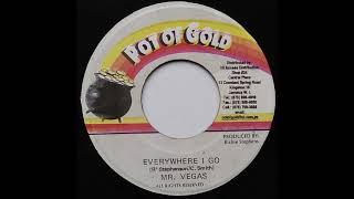 Mr  Vegas -  Everywhere I Go (Vinyl Side B Instrumental)  1998