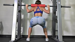 6 Effective Exercise for a Bigger Butt! Squat Sponge Challenge