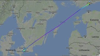 Brave passengers board last ever Flight 666