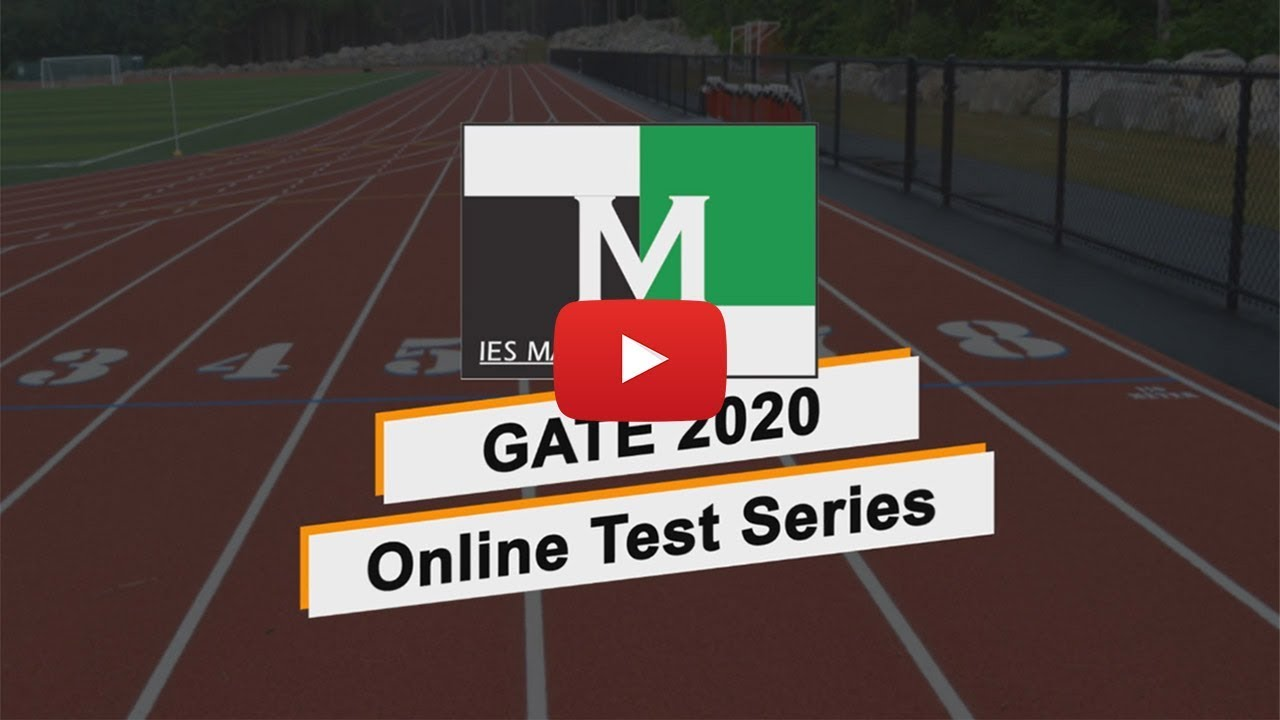 Online Test Series for ESE Prelims and GATE