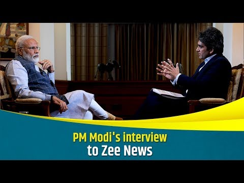 PM Modi's interview to Zee News