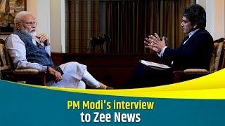 PM Modi's interview to Zee News