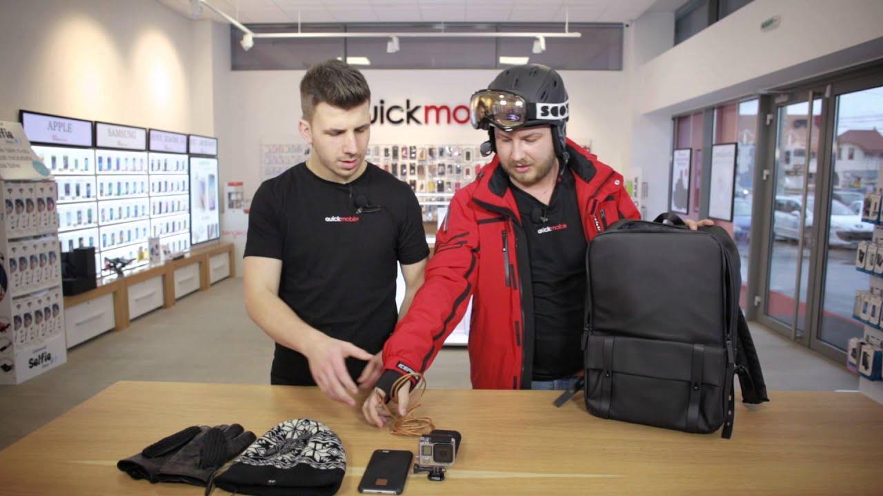 Fii pregatit de orice situatie pe partia de ski cu produsele de la QuickMobile!
