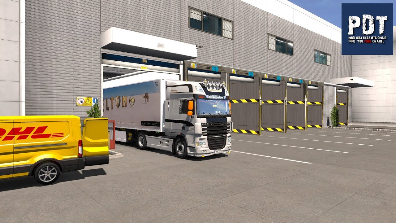 [ETS2  V1 32]   PDT   New fixed load unloading place created + New Garage  v2 0