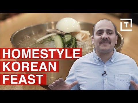 The Best Comfort Food In Koreatown NYC || Food/Groups Seoul Food