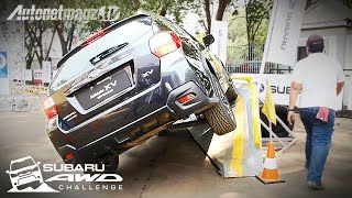Test Drive Subaru XV at Subaru AWD Challenge by AutonetMagz [with Subtitles]