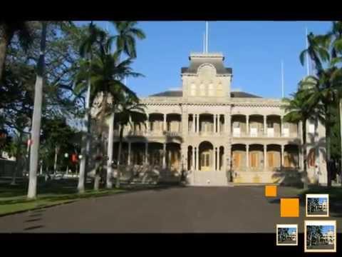 Iolani Palace - Honolulu in the U.S
