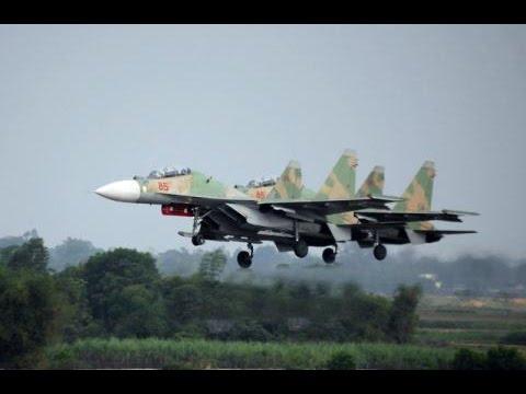 Phi công Việt Nam biểu diễn SU 30MK2 như những nghệ nhân - Vietnamese pilot fly SU-30MK2 aerobatic