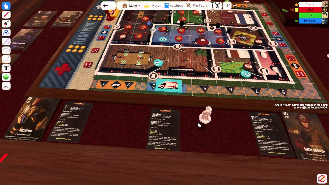 Partidas: Flashpoint Rescue 1 - Tabletop Simulator