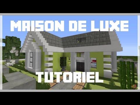 Tuto minecraft comment construire une maison de style for Maison moderne 7x7