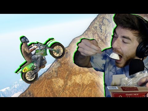 Can you bike to the top of GTA 5, with ONLY your voice?