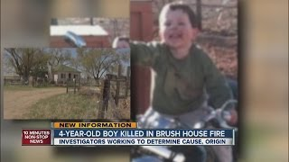 4-year-old boy killed in Brush house fire