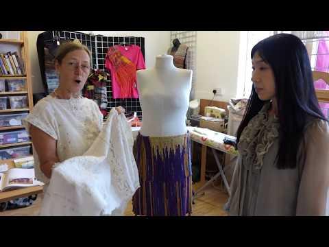 Saori Weaving Part II! Let's enjoy a Fashion Show!