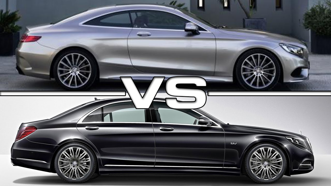 Mercedes S Class Coupe Vs Mercedes S Class Youtube