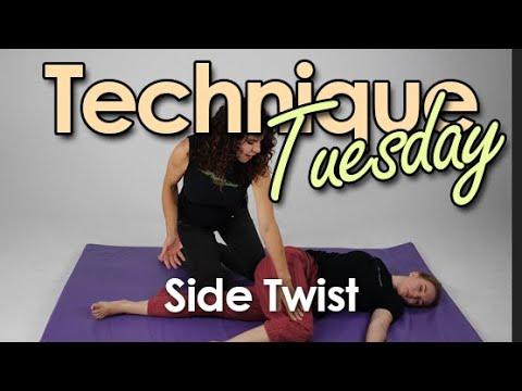 Thai Massage Side Twist