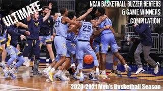 Ultimate College Basketball Buzzer Beaters & Game Winner Compilation of the 2020-2021 NCAA Season