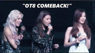 When SNSD Crash Tiffany's Concert (ENG SUB) Girls' Generatio…