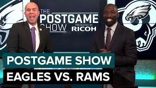 Philadelphia Eagles vs. Los Angeles Rams Postgame Show | 2018 Week 15