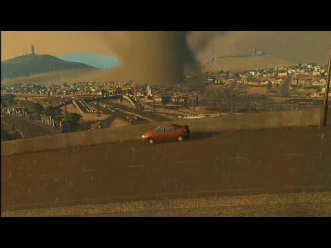 cities skyline (las megas) tornado disaster  