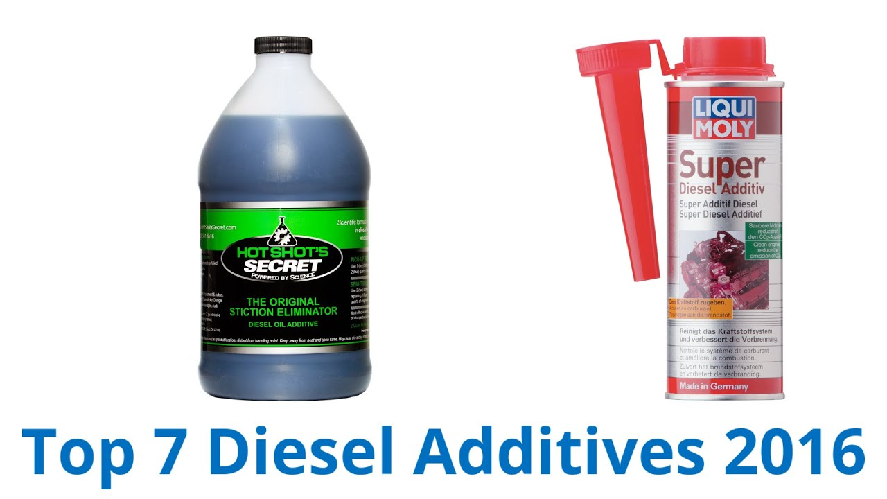 The best additives in the engine. Diesel Engine Additives 40