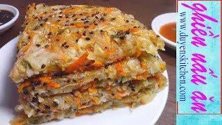 Cách Làm Bánh Bắp Cải Chay Mặn Đều Dùng Được By Duyen's Kitchen | Ghiền Nấu Ăn