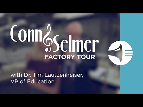 WWBW Conn Selmer Factory Tour - Mouthpieces with Vicky