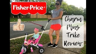 FISHER PRICE CHARM PLUS SMART TRIKE REVIEW