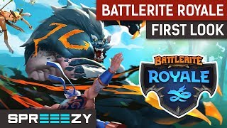 First Look at Battlerite Royale | Review and Gameplay | Fresh Approach to BR?