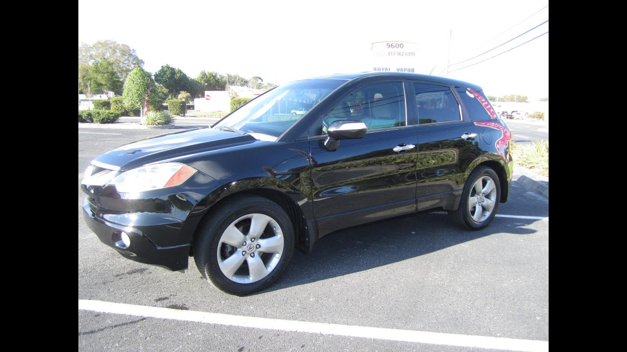 SOLD Acura RDX Turbo W Tech Package Meticulous Motors Inc - Acura rdx tires