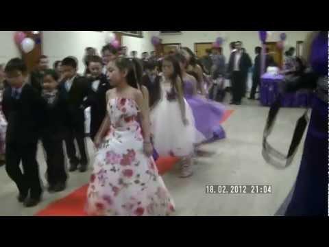 Glasgow Kid's Cotillion Dance on Andrea's 7th Birthday